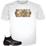 Black Gold Foams Foam Wars WHITE TEE