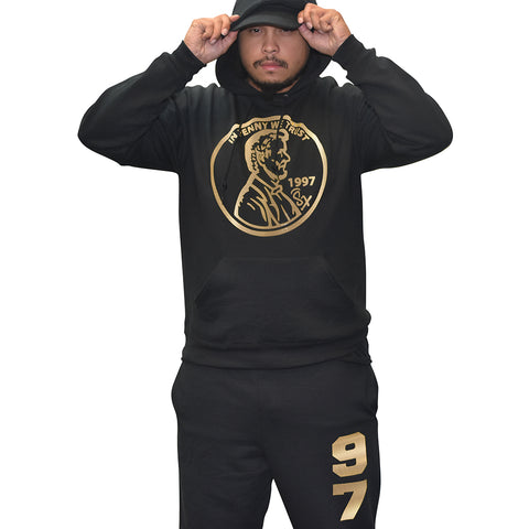 71433e95d48545 Black Gold Foams Penny BLACK OUTFIT. From   99.99 -   109.99. Cap and Gown  11 Graduate Bull Outfit