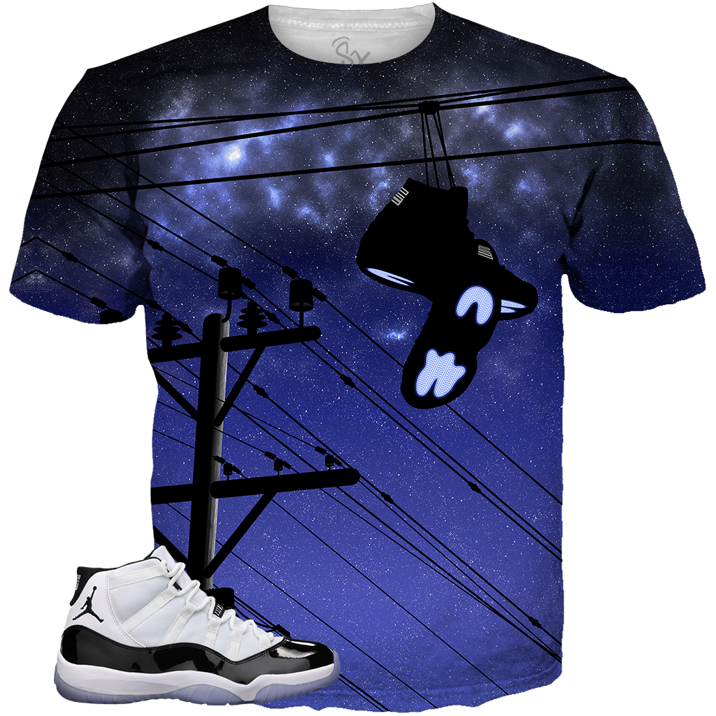 sale retailer 52aeb 3fb45 Concord 11 Hanging Shoes ALL OVER TEE