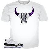 Concord 11 Shoe Horns WHITE TEE