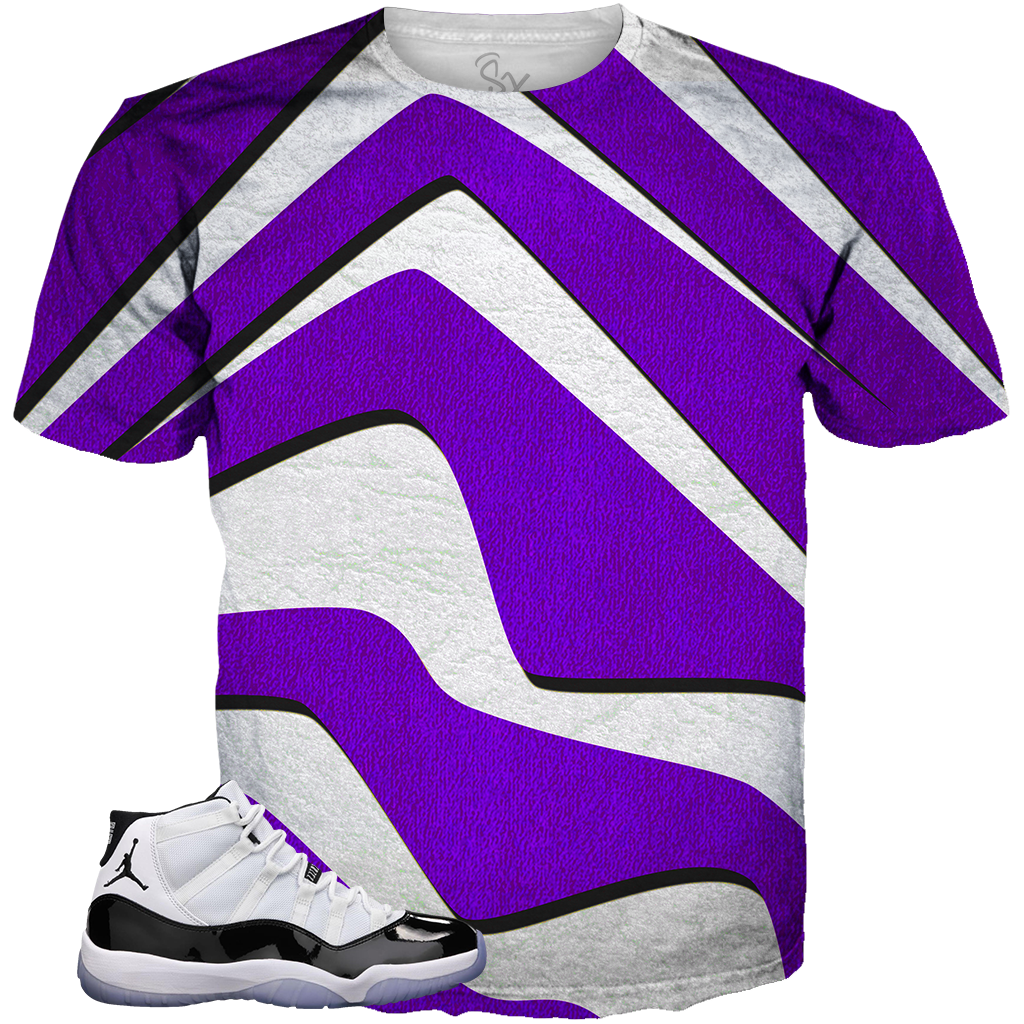 Concord 11 Slashy White ALL OVER TEE