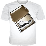 Concord 11 shoe box WHITE TEE