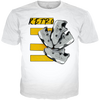 Cool Grey 4 Retro Kix WHITE TEE