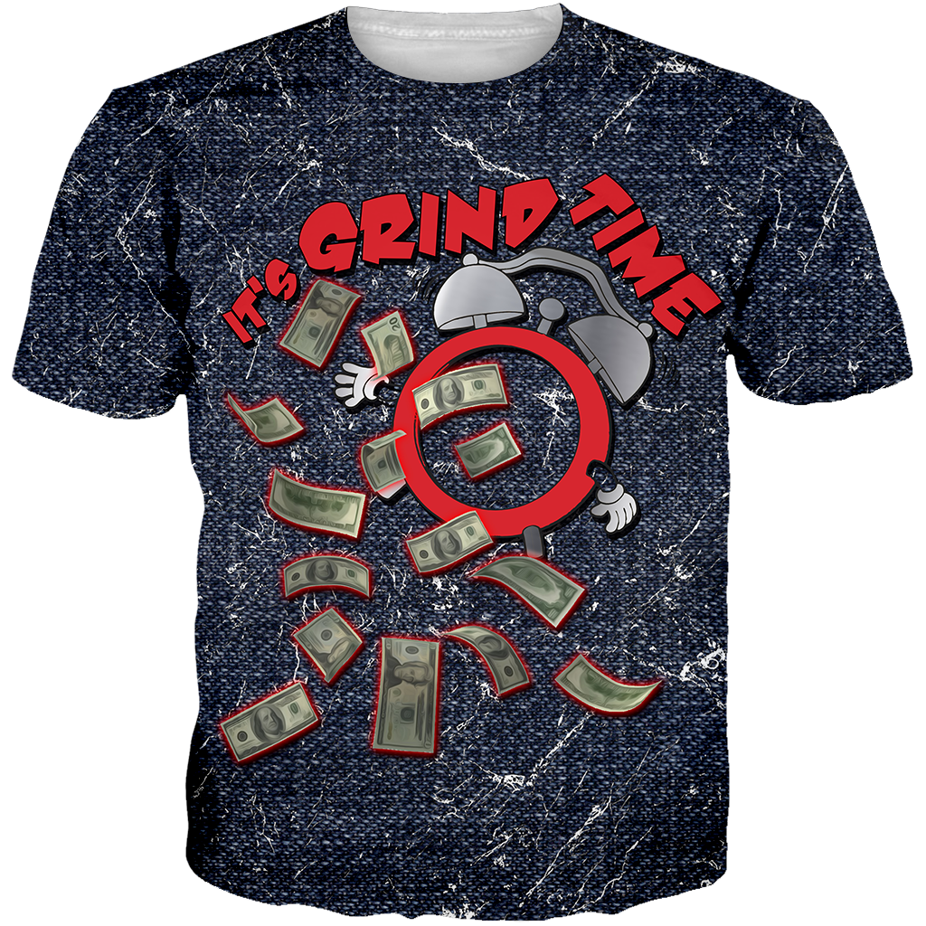 Denim Foams Grind Time ALL OVER TEE