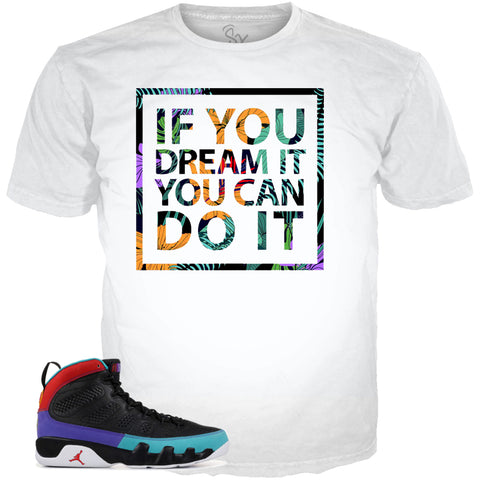 Dream it do it rugra WHITE HOODIE