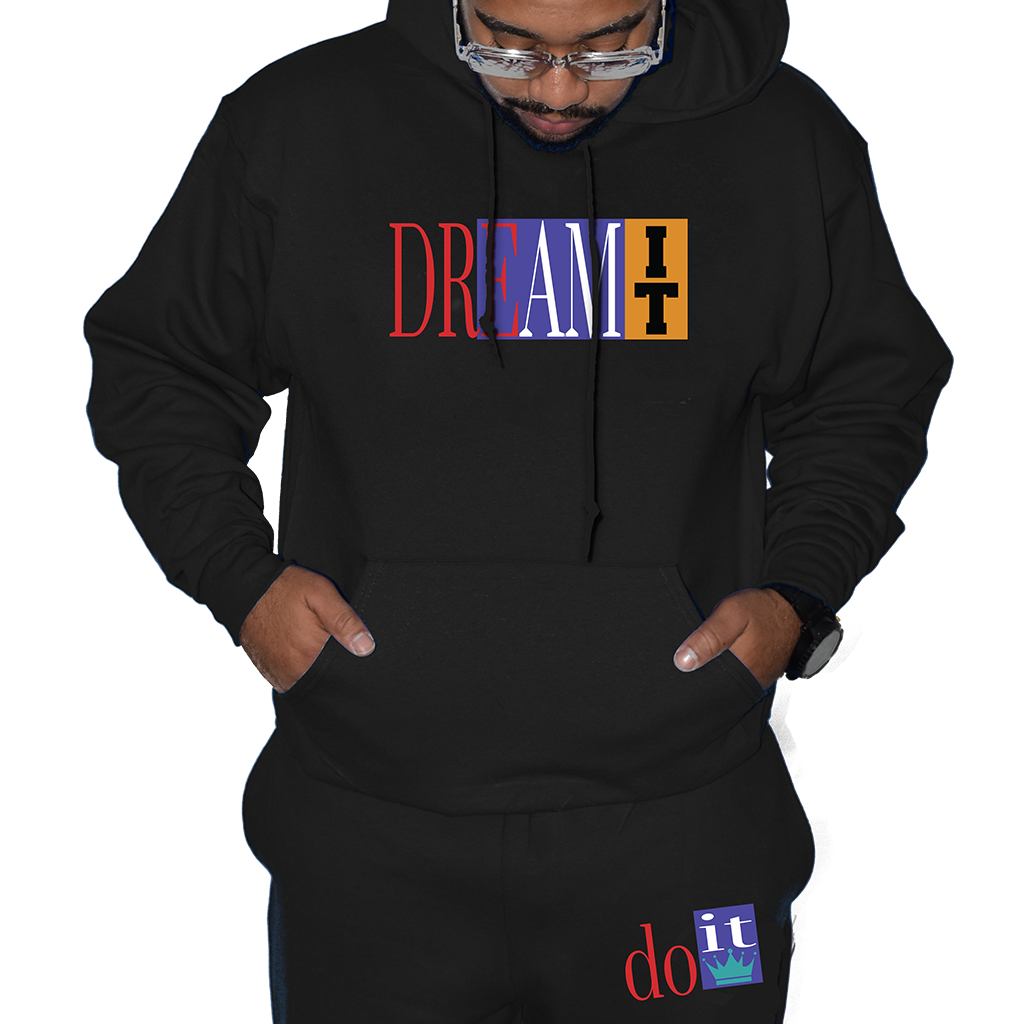 Dream It Do It 9 BLACK OUTFIT