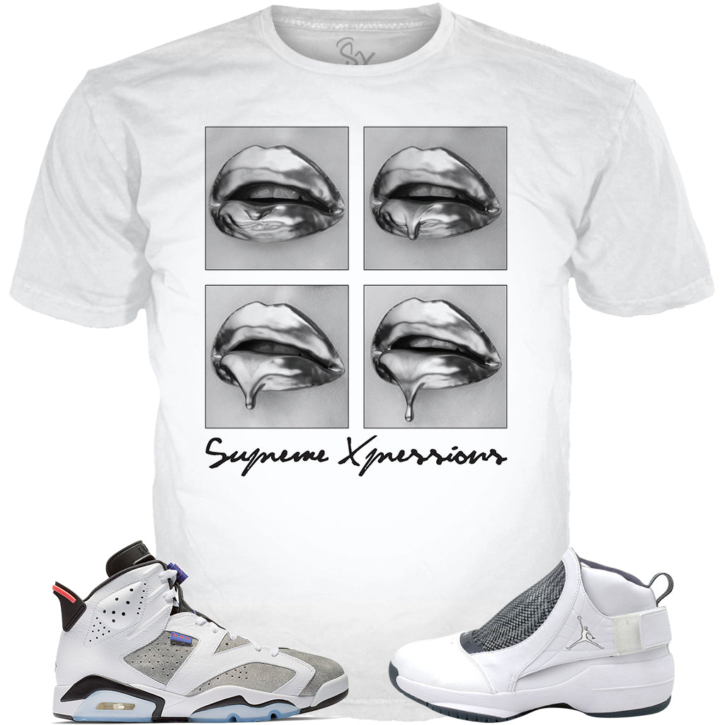Flint Grey 6 Liquid Lips WHITE TEE