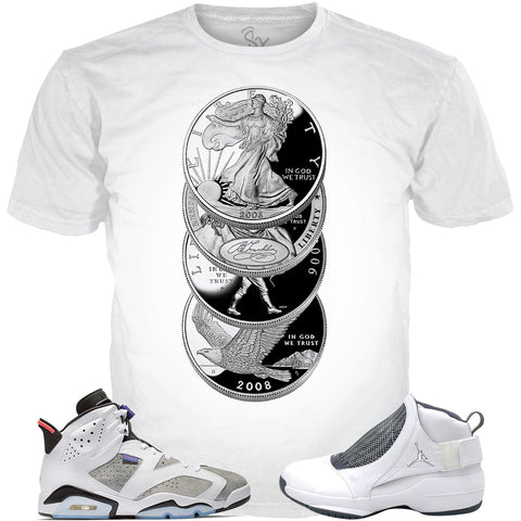 Flint Grey 6 Jordan Flint ALL OVER TEE