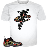Floral Foams 'Posite WHITE TEE