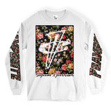 Floral Foams Square LONG SLEEVE TEE