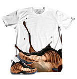 Copper Liquid Shoe Drop TEE