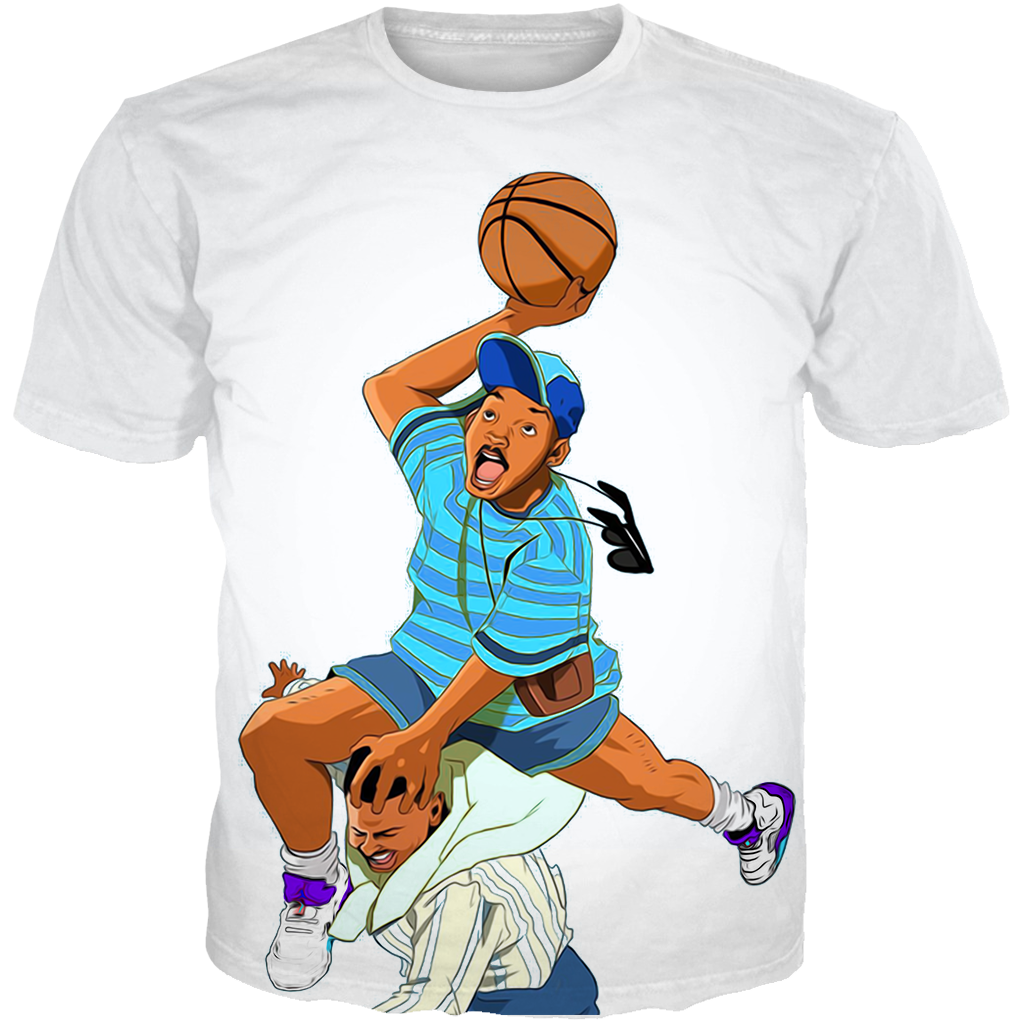 Fresh Prince 5 Bel Air WHITE TEE