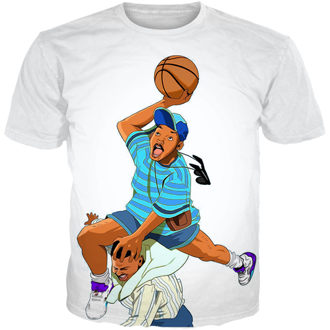 Fresh Prince 5 Fresh Striped ALL OVER TEE