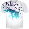 Fresh Prince 5 Shoe Splat WHITE TEE