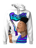 Fresh Prince 5 Sole Lick WHITE HOODIE