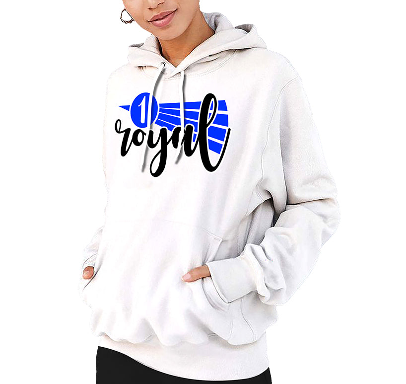 Game Royal 1 Ribbon Pull Over Hoodie