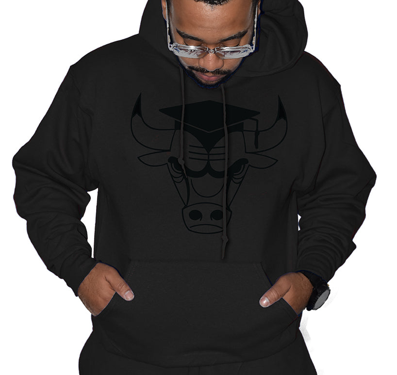 354de2c1ccb954 Cap and Gown 11 Graduate Bull Hoodie – SupremeXpressions