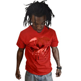 Gym Red 12 Dripping Cs METALLIC RED TEE