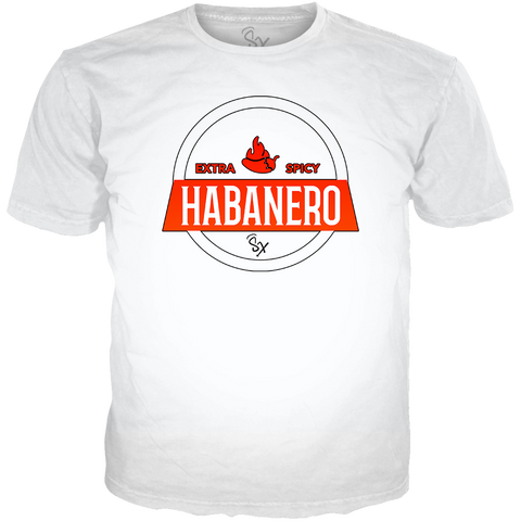 Habanero Foams Kick Game Fire WHITE TEE