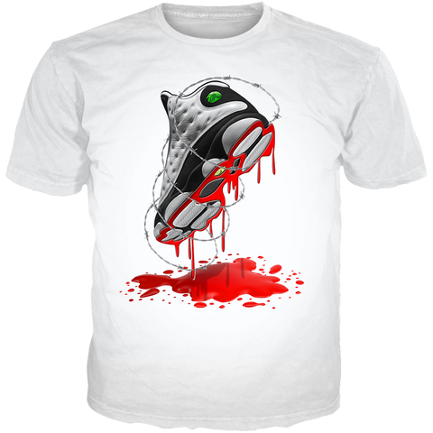 He Got Game 13 March WHITE TEE
