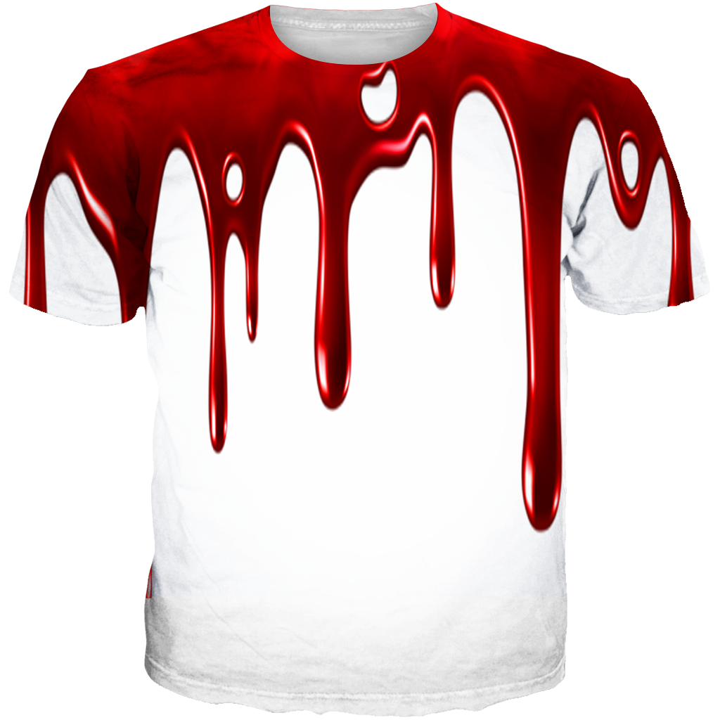05c8cb436d8af3 He Got Game 13 Blood Drip WHITE TEE – SupremeXpressions