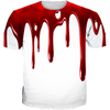 He Got Game 13 Blood Drip WHITE TEE
