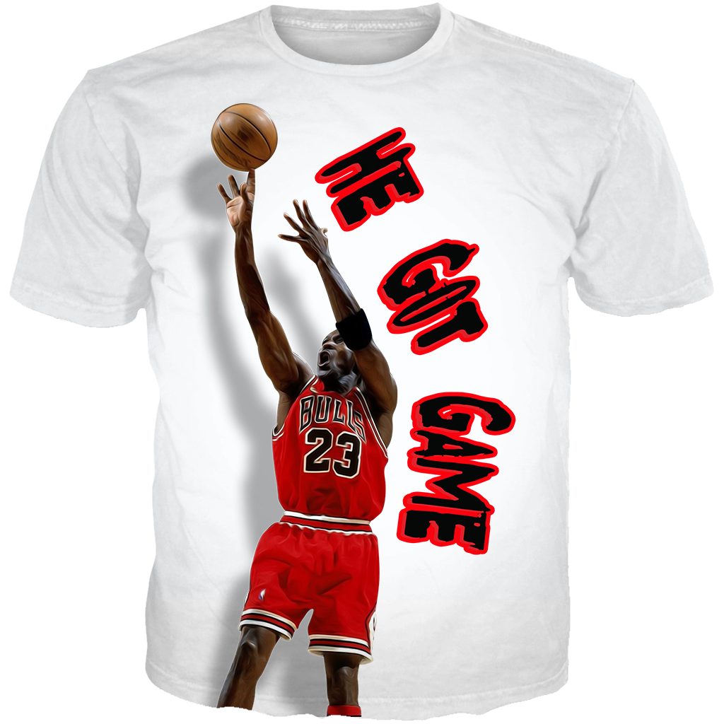He got game 13, he got game shirt