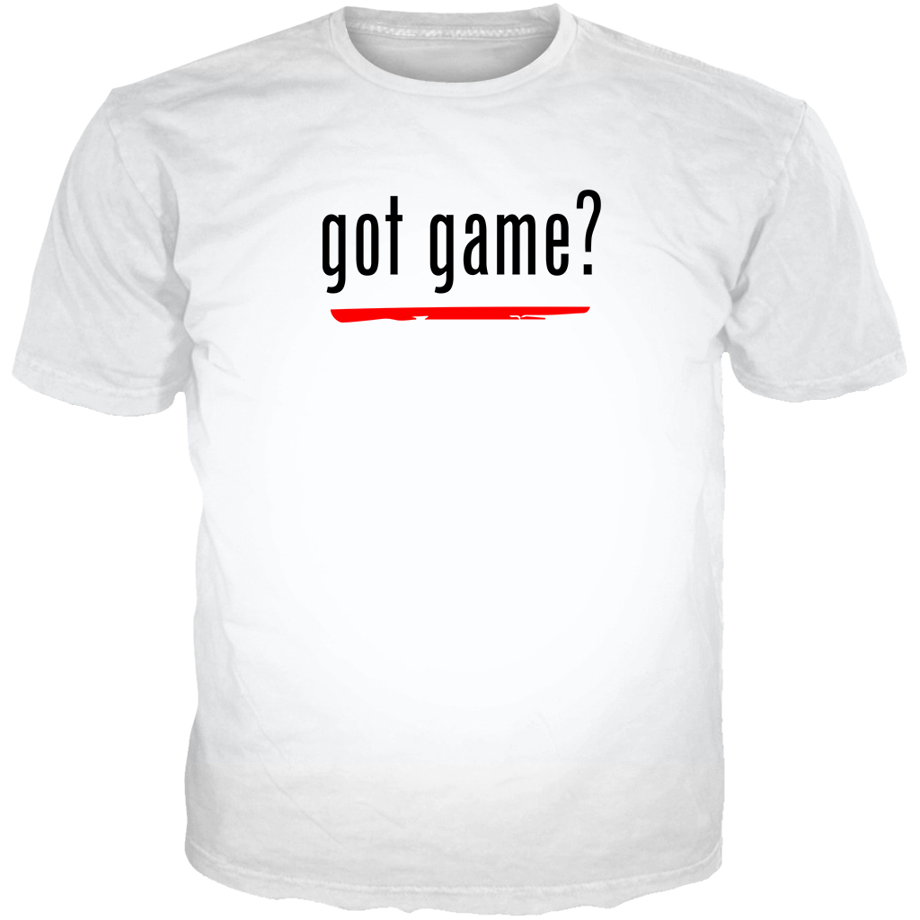 He Got Game 13 Got Game? WHITE TEE