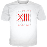 He Got Game 13 Typography WHITE TEE