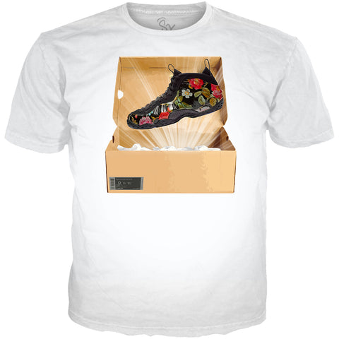 Floral Foams Flower Hardaway Black TEE