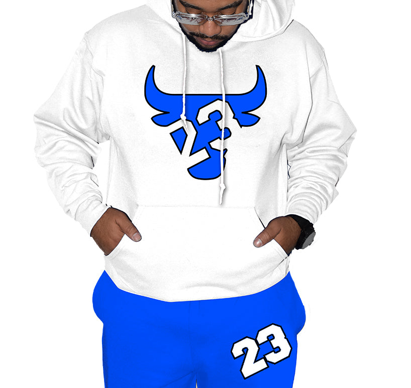Hyper Blue 13 23 Bull Outfit