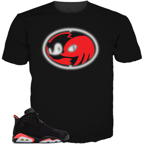 Infrared 6 Knuckles BLACK LONG SLEEVE TEE