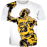 Melo 13 Dunk Man WHITE TEE