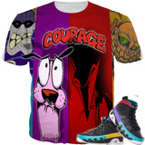 Dream It Do It 9 Coward or Courage  TEE