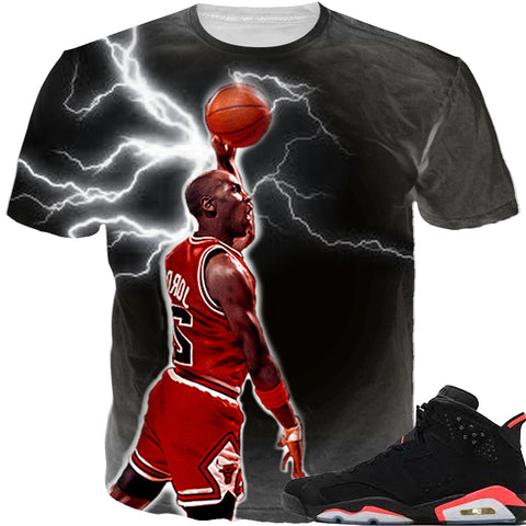 Infrared 6 666 BLACK TEE