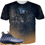 Navy Foams Official Midnight Evil ALL OVER TEE