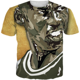 Olive Gold 12 Face TEE