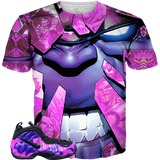 Purple Camo Foams Shattered Rage ALL OVER TEE