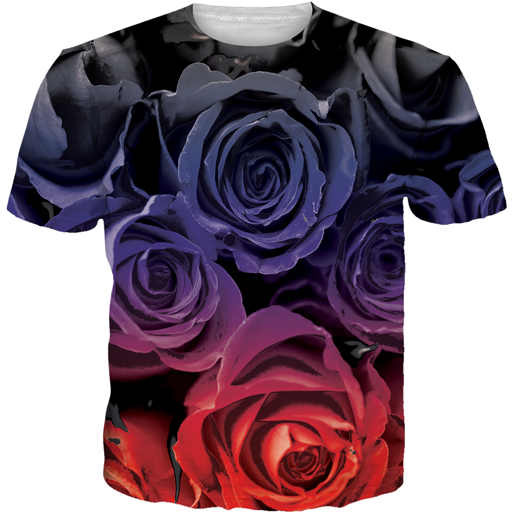 Raptors 4 Roses ALL OVER TEE