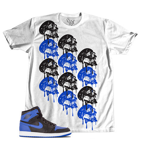 Royal 1 Melting Skulls TEE