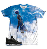 Black Royal Storm Dunk TEE - SupremeXpressions