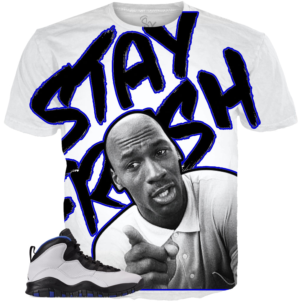 Orlando 10 Stay Fresh ALL OVER TEE