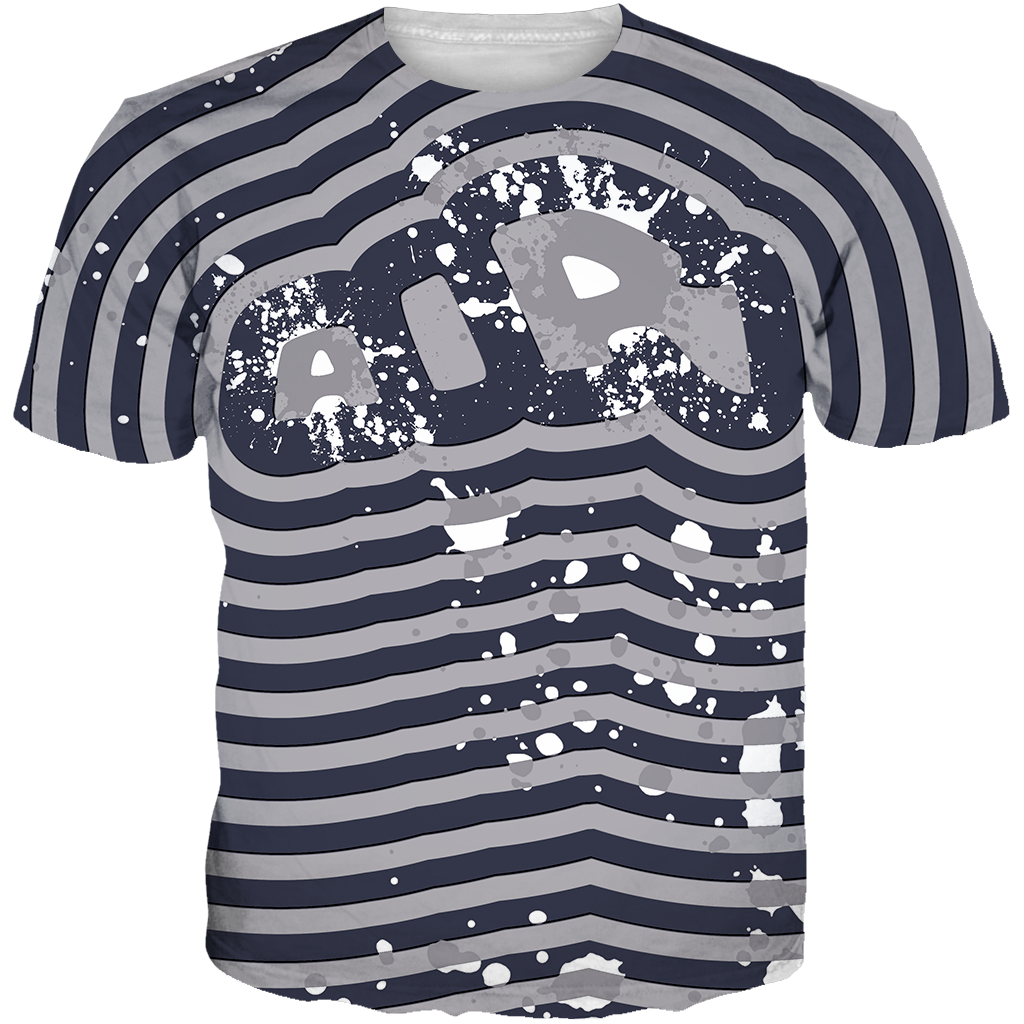 Uptempo Hoyas Air Splatter ALL OVER TEE