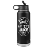 SPOOKY BITCH JUICE 32oz Insulated Stainless Steel Water Bottle