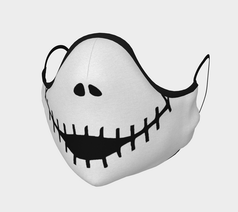 SKELLINGTON Face Mask (white)