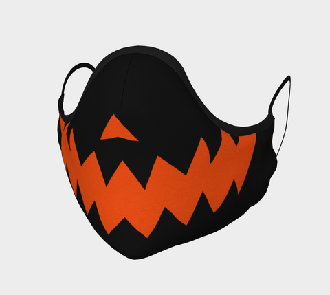 JACK O LANTERN Face Mask (black)