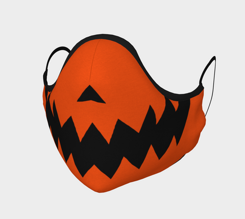 JACK O LANTERN Face Mask (orange)