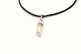 Raw Angel Quartz Choker Necklace
