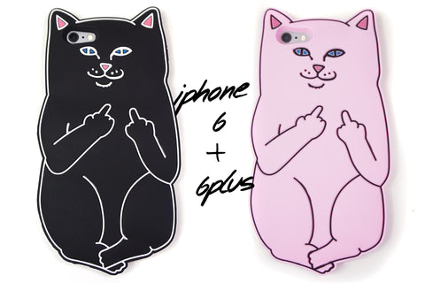 F U Kitty Phone Case - iPhone 6 & 6s, 6 Plus & 6s Plus