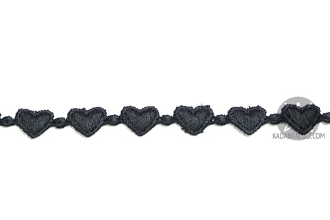 Heart Lace Choker Necklace